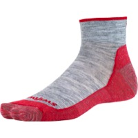 Swiftwick Pursuit Two Ultra Light Socks - Heather Red