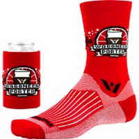 Swiftwick Vision Five Beer Series Socks - Wagoneer Porter