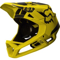 Fox Racing Proframe Full Face Helmet - Moth Dark Yellow