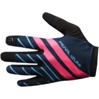 Pearl Izumi Divide Gloves 2018 - Mid Navy/Atomic Red Mtn