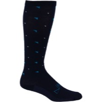45NRTH Knee High Northern Wool Socks - Blue