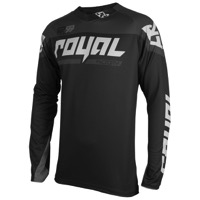 Royal Victory Race LS Jersey - Black/Ash