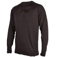 Royal Core LS Jersey - Black/Black