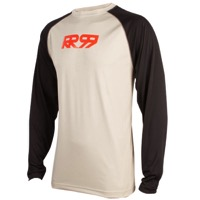Royal Core LS Jersey - Grey/Black