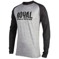 Royal Heritage LS Jersey - Grey/Black