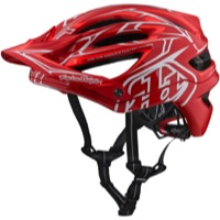Troy Lee A2 MIPS Helmet 2018 - Pinstripe 2/Red