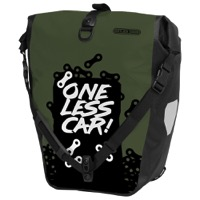 "Ortlieb Back-Roller Design ""One Less"" Pannier"