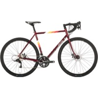 All-City Spacehorse Disc Complete Bike - Dark Red