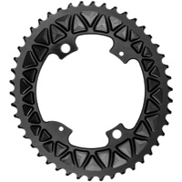 AbsoluteBlack Premium 2x SUB-Comp Oval Chainrings - 4 x 110mm BCD