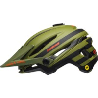 Bell Sixer MIPS Helmet 2018 - Fasthouse Matte Green/Orange