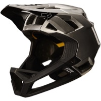 Fox Racing Proframe MIPS Helmet 2018 - Moth Black/Silver