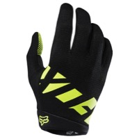 Fox Racing Ranger Men's Full Finger Gloves 2018 - Yellow/Black