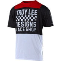 Troy Lee Skyline Air Jersey 2018 - Checker White/Black