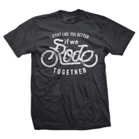 DHDwear Rode Together T-Shirt - Heavy Metal Grey