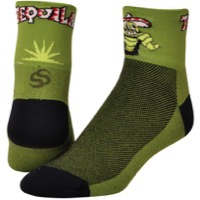 "Save Our Soles 2.5"" Tequila Socks - Green"