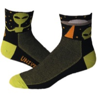 "Save Our Soles 2.5"" Universal Peace Socks - Black"