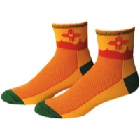 "Save Our Soles 2.5"" New Mexico Socks - Yellow"