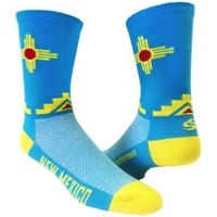"Save Our Soles 5"" New Mexico Socks - Turquoise"