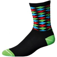 "Save Our Soles 6"" The Professor Socks - Black"