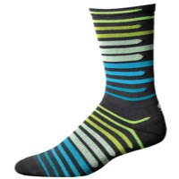 "Save Our Soles 7"" Floating Squares Socks - Granite"