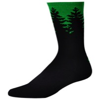 "Save Our Soles 7"" Evergreen Socks - Green"