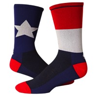 "Save Our Soles 7"" Texas Socks - Blue"