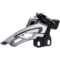 Shimano FD-M6000-E Deore E2 Triple Frnt Derailleur - 3 x 10 Speed Side Swing