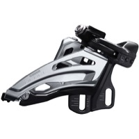 Shimano FD-M6020-E Deore E2 Double Frnt Derailleur - 2 x 10 Speed Side Swing