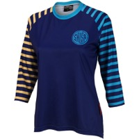 Salsa Devour Women's 3/4 Sleeve Jersey 2018 - Blue