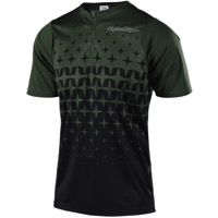 Troy Lee Terrain Jersey 2018 - Megaburst Green/Black