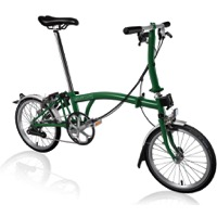 Brompton S6L Complete Bike - Racing Green