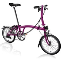 Brompton S6L Complete Bike - Berry Crush
