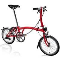 Brompton S2L Complete Bike - Red