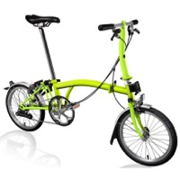 Brompton S2L Complete Bike - Lime Green