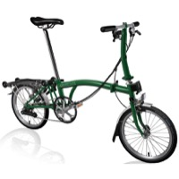Brompton S6R Complete Bike - Racing Green