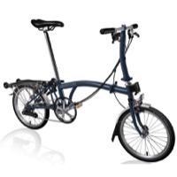 Brompton S6R Complete Bike - Tempest Blue
