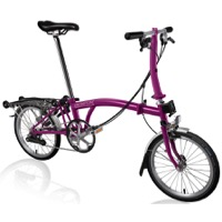 Brompton S6R Complete Bike - Berry Crush