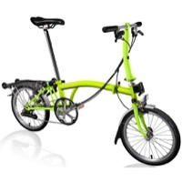 Brompton S6R Complete Bike - Lime Green