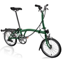Brompton M6R Complete Bike - Racing Green