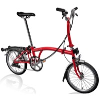 Brompton M6R Complete Bike - Red