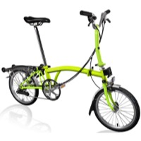 Brompton M6R Complete Bike - Lime Green
