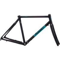 Ritchey Outback BreakAway Carbon Gravel Frameset - Matte Carbon/Teal