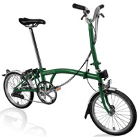 Brompton H6L Complete Bike - Racing Green