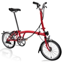 Brompton H6L Complete Bike - Red
