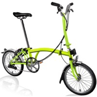 Brompton H6L Complete Bike - Lime Green