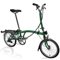 Brompton H6R Complete Bike - Racing Green