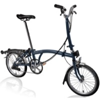Brompton H6R Complete Bike - Tempest Blue
