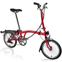 Brompton H6R Complete Bike - Red