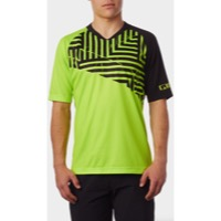 Giro Roust Jersey 2018 - Lime Distressed