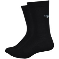 "DeFeet Levitator Lite 6"" Socks - Black/White"